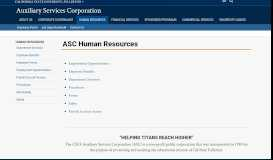 ASC Human Resources - Auxiliary Services ... - Cal State Fullerton