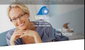 Atlantic Eye Consultants, PC: Visit Our Eye Doctor in Virginia Beach, VA
