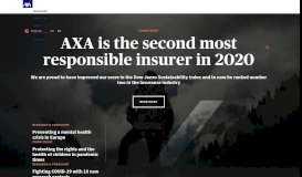 AXA: Home