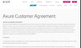 Axure Customer Agreement - Axure