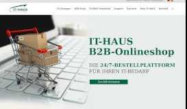 B2B-Portal | DIE 24/7-BESTELLPLATTFORM FÜR ... - IT-HAUS GmbH