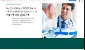 B2B2C   Nestle Health Science Ncare   Case Studies - Magento