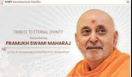 BAPS Swaminarayan Sanstha - Home