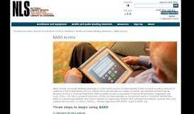 BARD Access - National Library Service for the Blind and Print ...