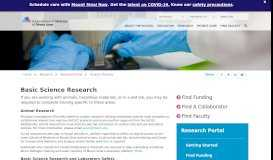 Basic Science Research - Icahn School of Medicine at Mount Sinai