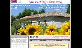 B&Bs and Gites for sale in France - no agencies