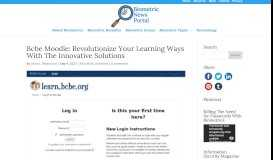 Bcbe Moodle: Revolutionize Your Learning Ways With The Innovative ...