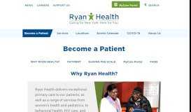 Become a patient - Ryan Health