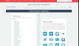 Belk Associate Handbook Related Keywords & Suggestions - Belk ...