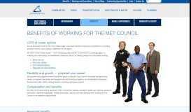 Benefits - Metropolitan Council