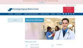 Best Health Services in Rockledge FL   Rockledge Regional Medical ...