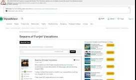 Beware of Funjet Vacations - Cozumel Forum - TripAdvisor