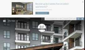 B&F Flats is a pet-friendly apartment community in Dallas, Texas