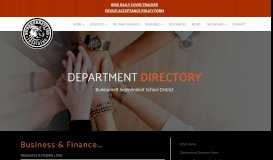 BISD Business Resources & Helpful Links - Burkburnett ISD