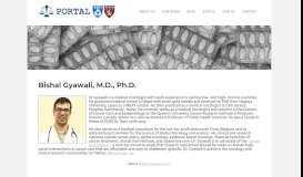 Bishal Gyawali - PORTAL: Program on Regulation, Therapeutics, and ...