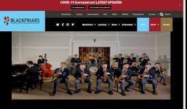 Blackfriars Priory School | Music