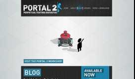 Blog - Official Portal 2 Website