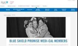 Blue Shield of California Promise Health Plan - Medi-Cal (2019)