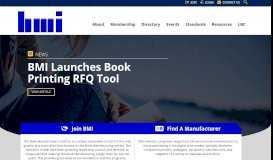 Book Manufacturers' Institute (BMI)