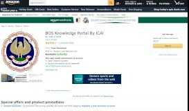 BOS Knowledge Portal By ICAI: Appstore for Android - Amazon.com
