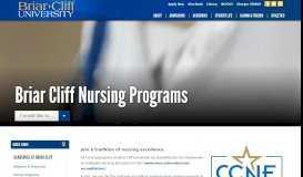 Briar Cliff Nursing Programs