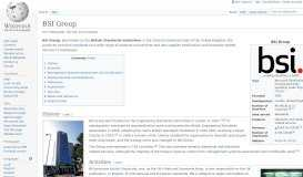 BSI Group - Wikipedia
