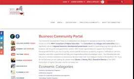 Business Community Portal - WNY College Connection