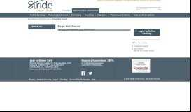 Business Payment Services - Stride Credit Union