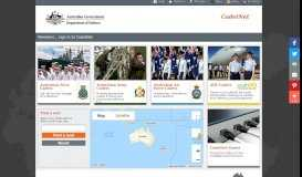 CadetNet Portal - Home