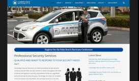 Cambridge Security Services | Security Guards and Services