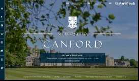 Canford School - Boarding School of the Year