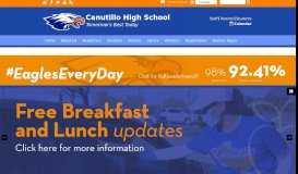 Canutillo High School: Home