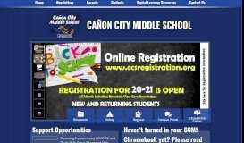 Cañon City Middle School