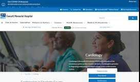 Cardiac Care | Fawcett Memorial Hospital