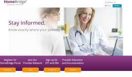 CareCentrix Provider Portal - Home Page