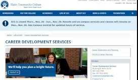 Career Development Services - Elgin Community College (ECC)