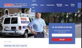 Career Opportunities At Roto-Rooter | Find A Quality Plumbing ...