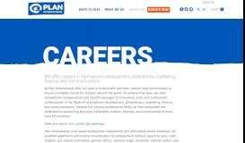Career Opportunities | Plan International USA