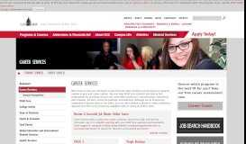 Career Services - Erie Community College