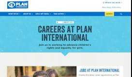 Careers at Plan International | Plan International