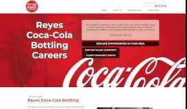 Careers at Reyes Coca-Cola Bottling   Home