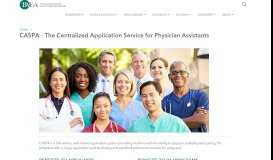 CASPA - The Central Application Service for Physician Assistants