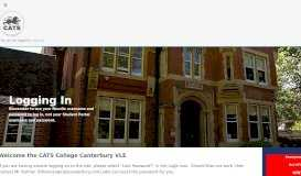CATS Canterbury - Discovery VLE