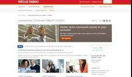 CEO Portal – Wells Fargo Commercial