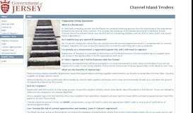 Channel Islands Procurement Portal