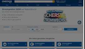 CHECK24 - Stromvergleich & Gasvergleich | Kfz-Versicherung, Kredit ...