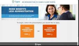 Cigna Client Portal