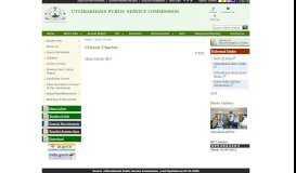 Citizen Charter: Citizen Charter - Uttarakhand Public Service ...