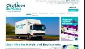 City Linen Services