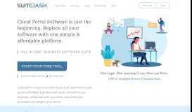 Client Portal Software : SuiteDash : White Label Customer Login ...